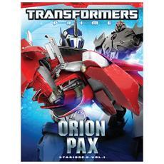 Dvd Transformers Prime - Stagione 02 #01