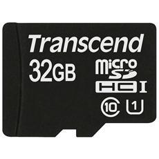 MicroSDHC Class 10 UHS-I da 32 GB