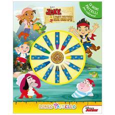 Disney Junior - Jake E I Pirati Dell'Isola Che Non C'E' (Libro Con Pastello A Cera)