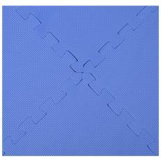 Tappeto Gioco Bimbi Set 8 Pezzi Colore Blu