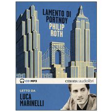 Lamento di Portnoy letto da Luca Marinelli. Audiolibro