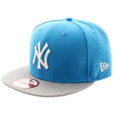 Cappello Con Visiera Pop Heather 9fifty S-m Azzurro Grigio