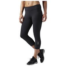 Pantalone Reebok Crossfit Aj0679 Leggins Os Nylux Capri Nero