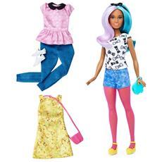 Barbie Fashionista E Moda - Blue&Violet RICONDIZIONATO