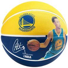Pallone Basket Stephen Curry Giallo Azzurro 7
