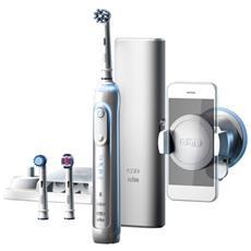 Spazzolino Da Denti Elettrico Oral-b 224133 Bluetooth 3d Waterproof Bianco Batteria Ricaricabile