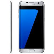"""Galaxy S7 Edge Argento Display 5.5"""" Quad HD Octa Core Ram 4GB Storage 32 GB +Slot MicroSD WiFi Bt 4G / LTE Doppia Fotocamera 12Mpx / 5Mpx Android 6.0 - Italia RICONDIZIONATO"""