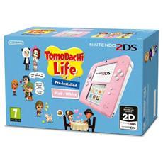 Console 2DS Rosa / Bianco + Gioco Tomodachi Life