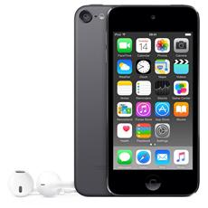 "iPod Touch 32GB Display Retina 4"" IPS Multi-Touch Fotocamera 8Mpx con AirPlay iCloud Bluetooth / Wi-Fi Colore Grigio Siderale"