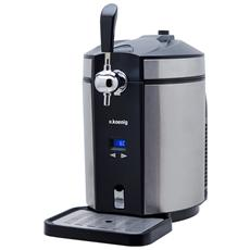 H.KOENIG - BW1880 Spillatrice Birra Compatibile con Tutti i Fusti di Birra Universali da 5L; Temperatura...