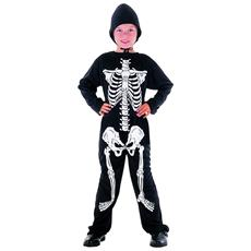 JADEO - Costume Da Scheletro Per Halloween Da Bambino 6 A 7 Anni (m) d14c5b5c7abb
