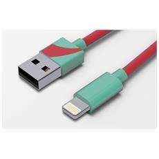 Cavo Lightning USB 1,2m Acquamar.