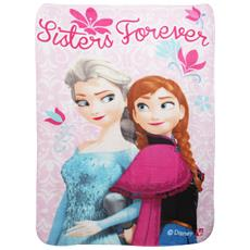 Frozen Sisters Forever Plaid In Pile Bambine (taglia Unica) (rosa)