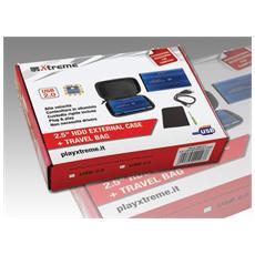 29003, USB Type-A, Femmina, HDD, SATA, USB, Nero, Blu
