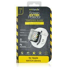 Protezione Schermo in Vetro Temperato per Apple Watch 42 mm (1Pz)