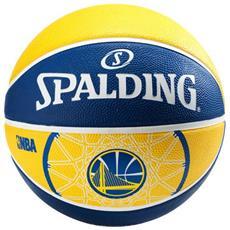 Pallone Basket Golden State Warriors Blu Giallo 7