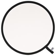 Pannello circolare Bianco trasparente Ø 120 cm