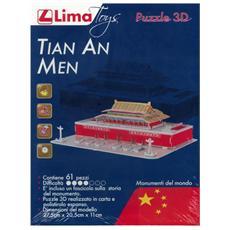 Puzzle 3D Tian An Men pz 22 x 28 x 28 cm 8033813061854