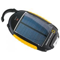 Caricatore Solare 4 in 1 Charger con Adattatori di tutti i tipi Funzioni Lampada SOS e Luce