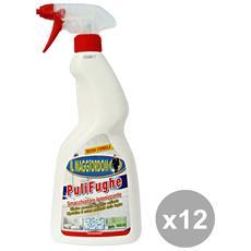 Set 12 Puli Fughe 750 Ml. Deterge