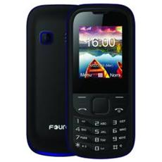 "EasySimply Nero Dual SIM Display 1.8"" +Slot MicroSD con Bluetooth Fotocamera RadioFM e Torcia"