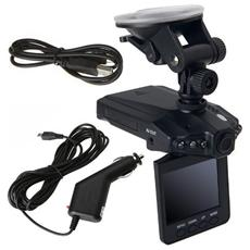 Mini Dvr Portatile Per Auto Telecamera Infrarossi Schermo Lcd 2,5