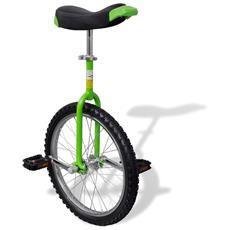 Monociclo Regolabile Verde 20 Inch / 50,8 Cm
