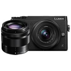 Lumix DMC-GX80 12-32mm OIS + 35-100 mm OIS Nero RICONDIZIONATO