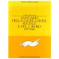 Annuario legislazione soc. 75/80