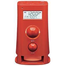 Orologio RadioSveglia Colore Rosso - Modello K 200