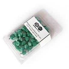 BT081 - Viti Zigrinate M3 e 6-32 Light Green