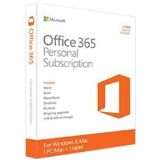 Office 365 Personal per Mac ESD 1 Licenza Versione Abbonamento 1 Anno (Multilingua)
