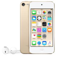 "iPod Touch 32GB Display Retina 4"" IPS Multi-Touch Fotocamera 8Mpx con AirPlay iCloud Bluetooth / Wi-Fi Colore Oro"