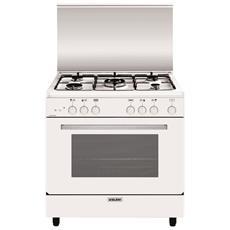 GLEM GAS - Cucina a Gas A855GX 5 Fuochi Gas Forno Gas Classe...