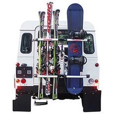 Gringo Ski&Board portasci e snowboard posteriore da ruota di scorta per fuoristrada