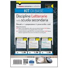 Il nuovo concorso a cattedra. Classi A22 (A043) , A12 (A050) kit discipline letterarie. Manuali per la preparazione alle prove scritte ed orali. Con espansione online
