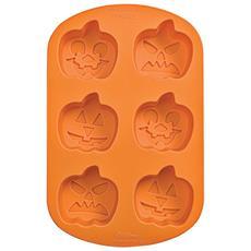 Stampo In Silicone Jack O Lanterns Halloween 6 Cavità