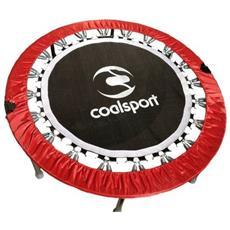 Trampolino + Thunderbell Superjump Jill Cooper Modello 122 Cm Con 2 Dvd