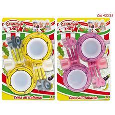 Giocattoli Vd63586 Piccolo Chef Dinner, Multicolore, Taglia Unica