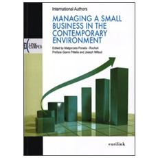 Managing a small business in the contemporary environment