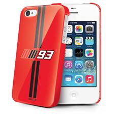 Mm93 Red Cover For Iphone 4/4s