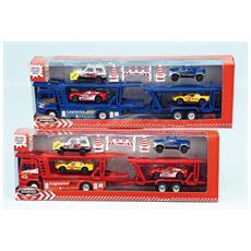 D / C Camion Bisarca+4 Auto L / S