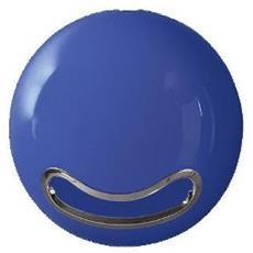 Supporto Parete Porta Carta Igienica In Abs Blue Lucido Ø Cm 18,5 - Bowl-shiny 10.16463