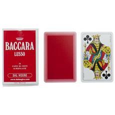 DNG90002 Carte Baccarà Lusso Rosse