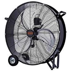 Ventilatore Ventilatori Industriale Da Terra Pavimento Con Ruote 120w Pala 60cm