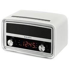 FM / PLL, 12/24, Bluetooth 2.1+EDR, USB, AUX, Bianco