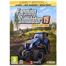 Farming Simulator 15 Gold Edition, PC Oro PC Inglese videogioco