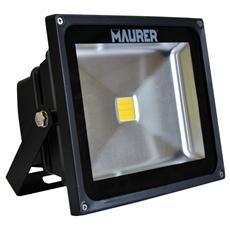 Faretto Led Maurer in alluminio Potenza 10 W durata 40.000 ore
