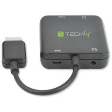 IDATA HDMI-VGA8 - Estrattore Audio HDMI Stereo / Canale Audio 5.1 4K 3D