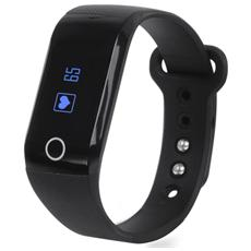 Smart Band Fitness Con Cardiofrequenzimetro Trevi Sf 230 Hr Nero